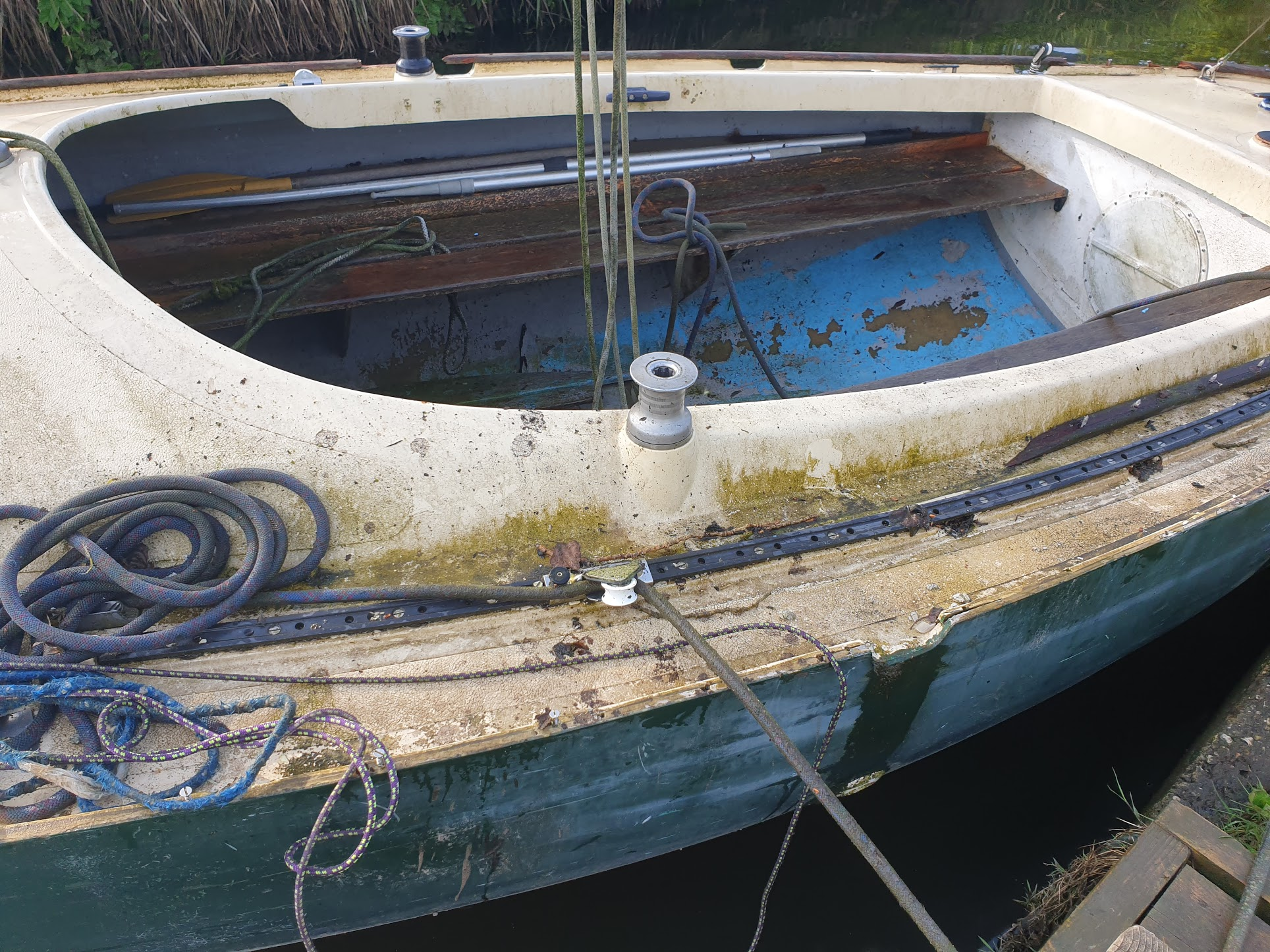 image from Post 1: Restoring a Hanseatic 19.2